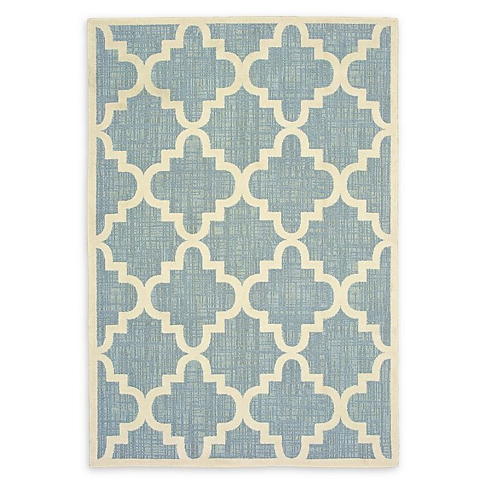 Alternate image 1 for Oriental Weavers Barbados Woven 3'3 x 5' Area Rug in Blue