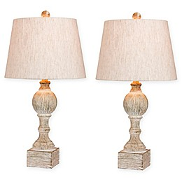Fangio Lighting Sculpted Column Table Lamp Collection