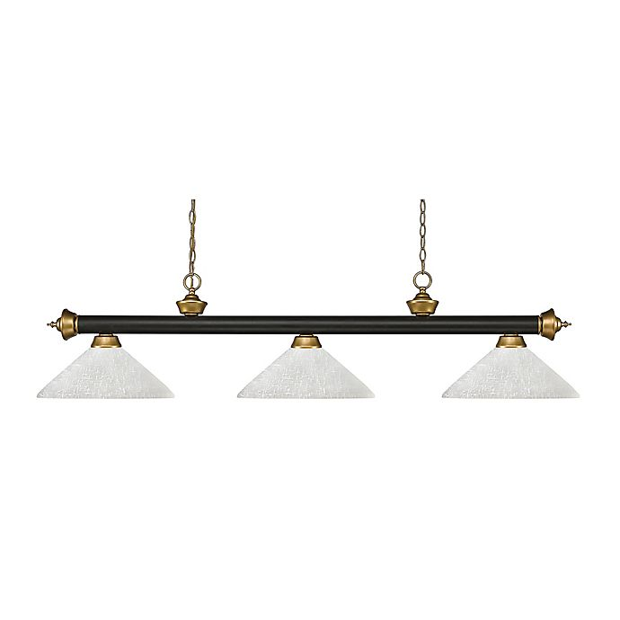 Alternate image 1 for Filament Design Reese 3-Light Pendant in Bronze/White