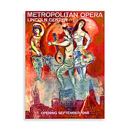 Metropolitan Opera Wall Poster