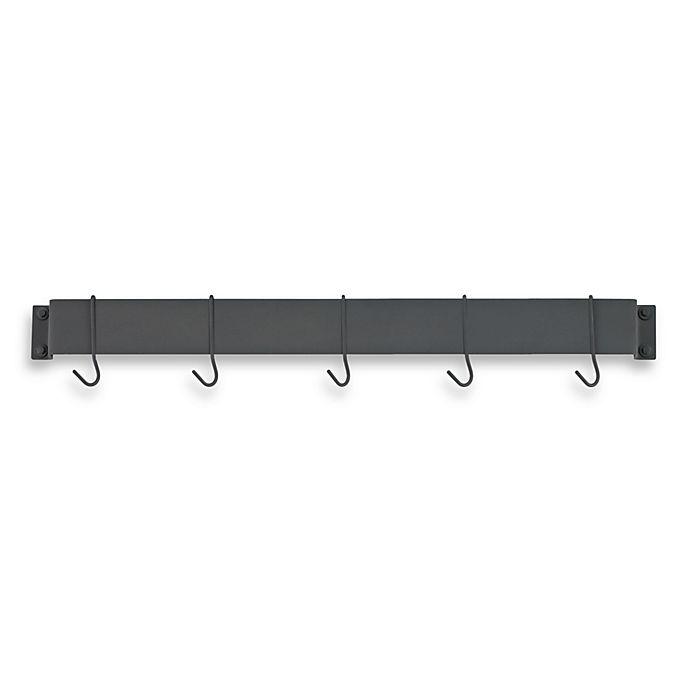 Alternate image 1 for Cuisinart® Bar Wall Rack in Black Matte Finish
