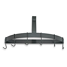 Cuisinart® Half Circle Wall Rack in Black Matte Finish