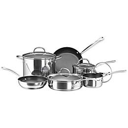 Farberware® Millennium Nonstick Coated Stainless Steel 10-Piece Cookware Set