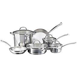 Farberware® Millennium Stainless Steel 10-Piece Cookware Set