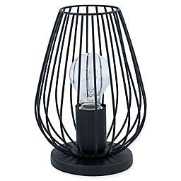 Eglo USA Newtown Table Lamp in Black