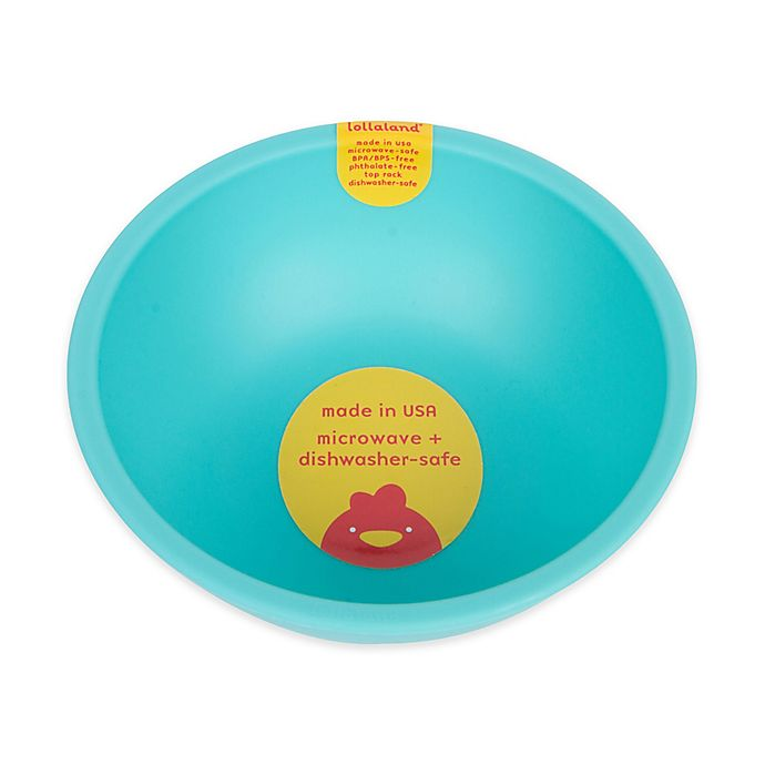 Alternate image 1 for Lollaland® Plastic Bowl in Turquoise