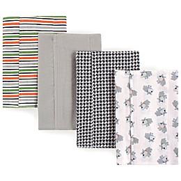 Luvable Friends® 4-Pack Dog Flannel Burp Cloths