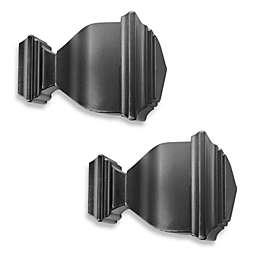 Cambria® Premier Complete Napoleon Finials in Satin Black (Set of 2)