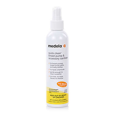 Medela® 8 oz. Quick Clean Breast Pump & Accessory Sanitizer