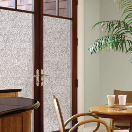 Buy Decorative Privacy Film Door Glass Cling In Mosaic