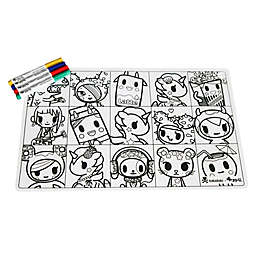 ZoLi tokiMATTIES™ Character Squares Placemat