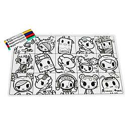 ZoLi tokiMATTIES™ Character Squares Placemat