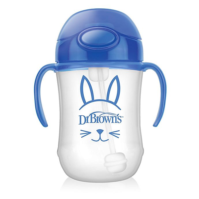 Alternate image 1 for Dr. Brown's® 9 oz. Baby's First Straw Cup