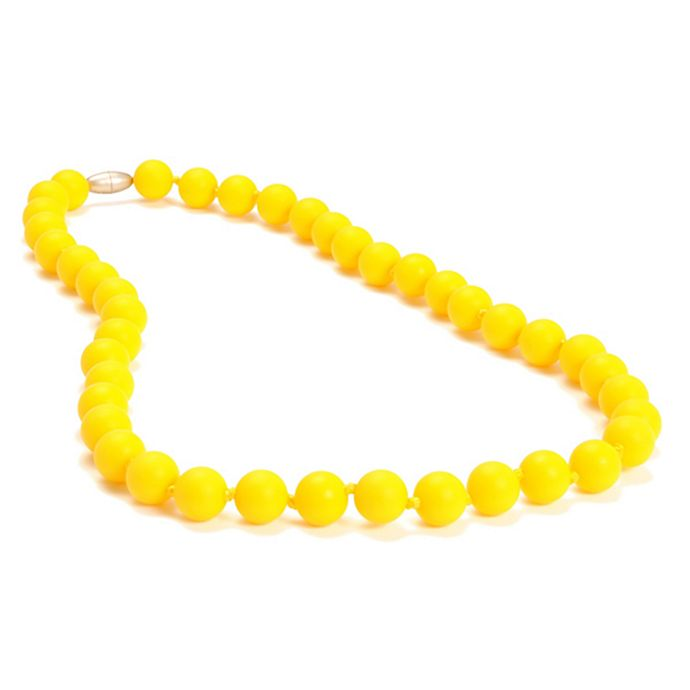 Alternate image 1 for chewbeads® Jane Necklace in Yellow