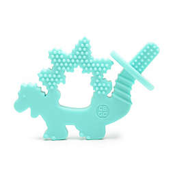 chewbeads® Dinosaur Chewpal in Turquoise