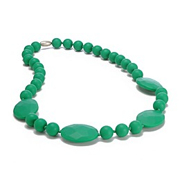 chewbeads® Perry Necklace in Emerald Green