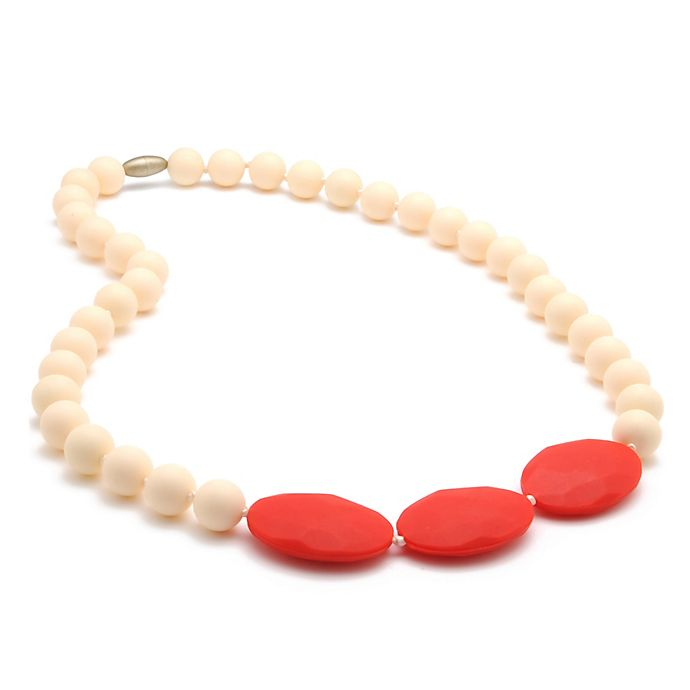Alternate image 1 for chewbeads® Greenwich Necklace in Ivory