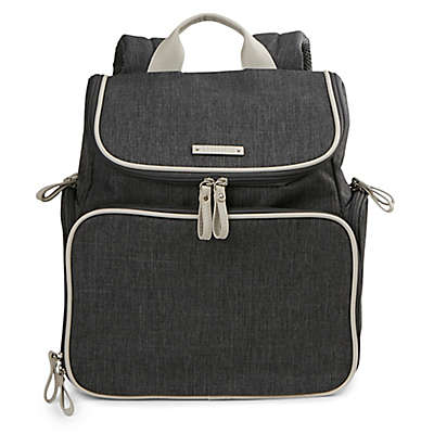 Bananafish Madison Breast Pump Backpack in Grey
