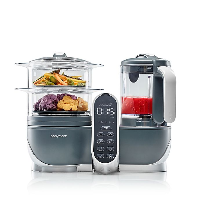 Alternate image 1 for babymoov® Duo Meal 5-in-1 Food Prep System in Grey