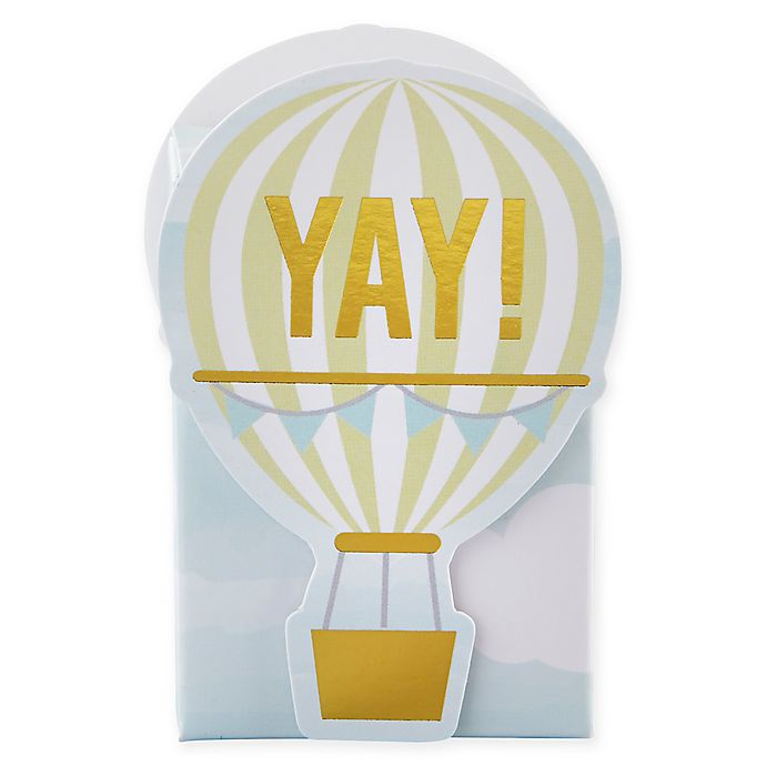 Alternate image 1 for Kate Aspen® 12-Pack Hot Air Balloon Favor Boxes