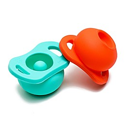 Doddle & Co. 2-Pack Pop 0-6M Silicone Pacifier