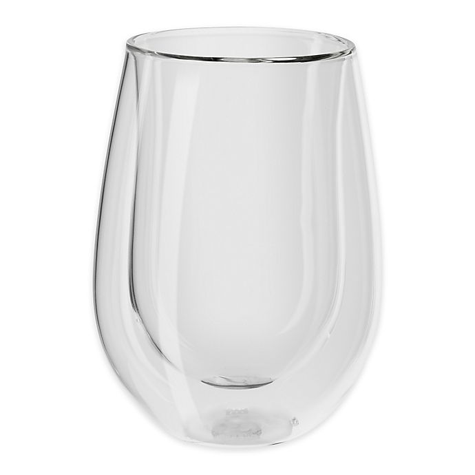 Alternate image 1 for Zwilling J.A. Henckels Sorrento Double Wall Stemless Red Wine Glasses (Set of 2)