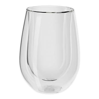 Zwilling J.A. Henckels Sorrento Double Wall Stemless Red Wine Glasses (Set of 2)