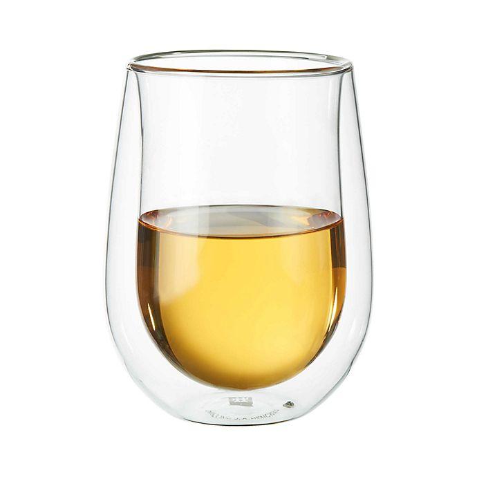 Alternate image 1 for Zwilling J.A. Henckels Sorrento Stemless White Wine Glasses (Set of 2)