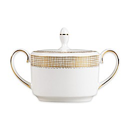 Vera Wang Wedgwood® Gilded Weave Gold Covered Sugar Bowl