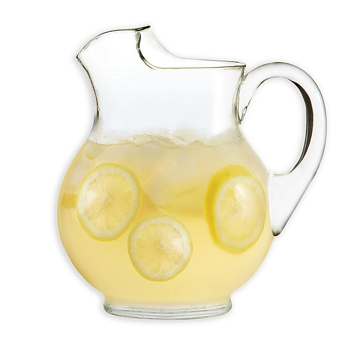 Alternate image 1 for Dailyware® Glass Belly Pitcher