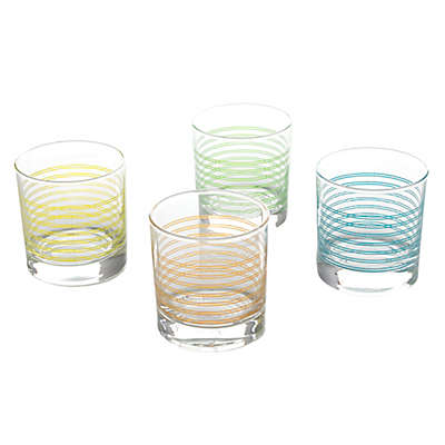 Pasabahce Fashion Double Old Fashioned Glasses (Set of 4)