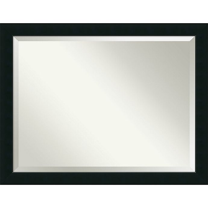 Alternate image 1 for Armanti Corvino Bathroom Wall Mirror in Black