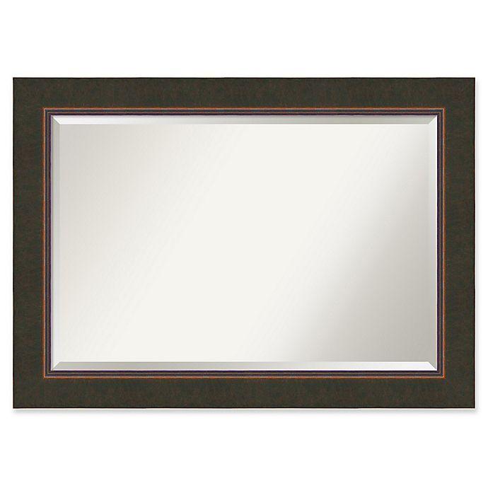 Alternate image 1 for Amanti Art Milano X-Large Bathroom Mirror in Bronze