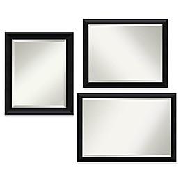 Amanti Art Nero Bathroom Mirror