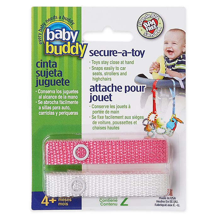 Alternate image 1 for Baby Buddy® Secure-A-Toy
