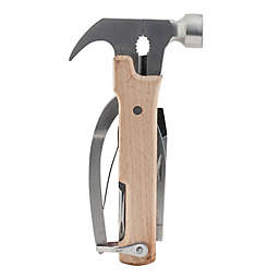 Kikkerland® Design 10-in-1 Wood Hammer Tool in Beige
