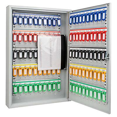 Barska 100 Keys Adjustable Lock Box in Grey