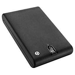 Barska CB12774 Portable Biometric Lock Box in Black
