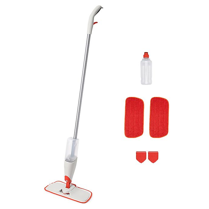 Alternate image 1 for OXO Good Grips® 7-Piece Spray Mop Kit
