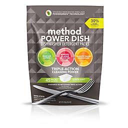 Method® 45-Count Lemon Mint Power Dish Dishwasher Detergent Packs