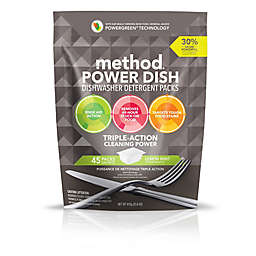 Method® 45-Count Lemon Mint Power Dish Dishwasher Detergent Packs