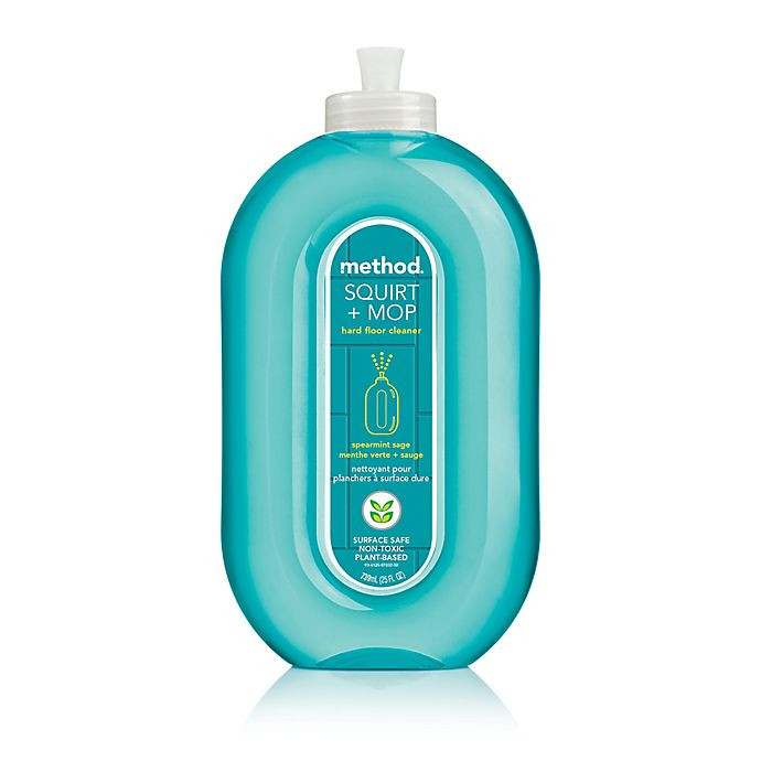 Alternate image 1 for Method® 25 oz. Squirt and Mop Hard Floor Cleaner in Spearmint Sage