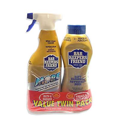 Bar Keeper's Friend® 2-Piece Liquid and Foam Spray Value Pack