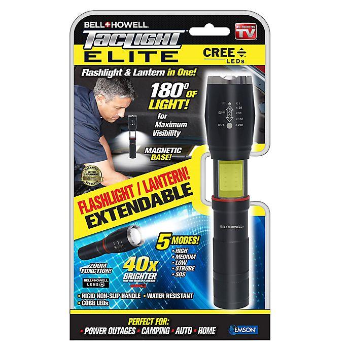 Alternate image 1 for Bell + Howell TacLight™ Elite LED Flashlight/Worklight