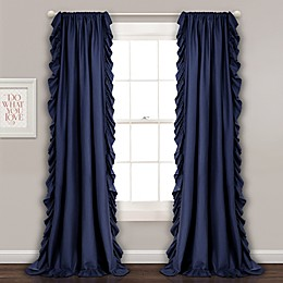 Reyna Rod Pocket Window Curtain Panel Pair