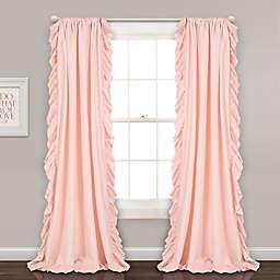 Reyna 84-Inch Rod Pocket Window Curtain Panels  (Set of 2)
