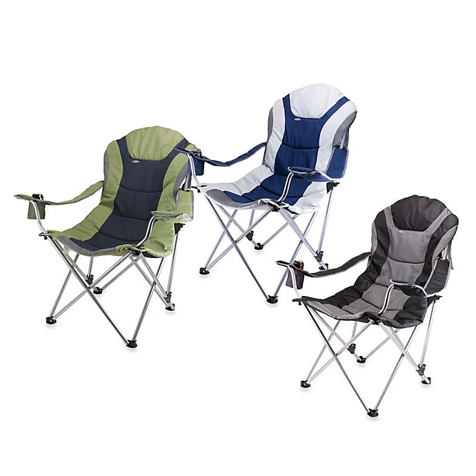Picnic Time 174 Reclining Camp Chair Bed Bath Amp Beyond