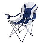 Picnic Time® Reclining Camp Chair in Blue