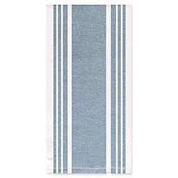 All-Clad Striped Dual Kitchen Towel in Cornflower