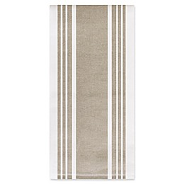 All-Clad Striped Dual Kitchen Towel in Mushroom